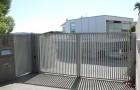 Промышленные уличные распашные ворота
