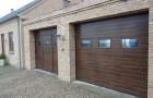 Секционные гаражные ворота Prestige