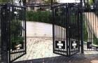 Складчатые ворота (ангарные)