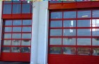 Секционные ворота панорамные из теплого алюминия AluTherm