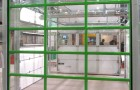 Секционные ворота панорамные из холодного алюминия AluTrend и AluPro