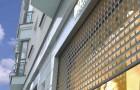 Роллеты из экструдированных профилей решетчатые
