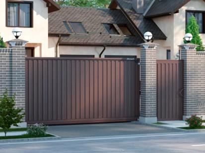 Какие ворота лучше откатные или распашные?